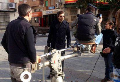 El actor Jesús Olmedo en una escena de 'El clavo de oro'