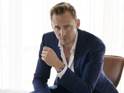 Tom Hiddleston, fotografiado para la revista 'W Magazine'.