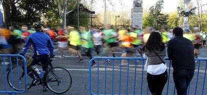 Corredores en la XIV edición del Medio Maratón de Madrid.