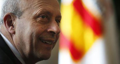 El ministro de Educacion Cultura y Deportes José Ignacio Wert.