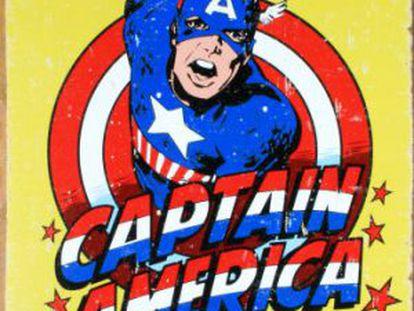 El Capitán América, ejemplo de patrioterismo en el tebeo.