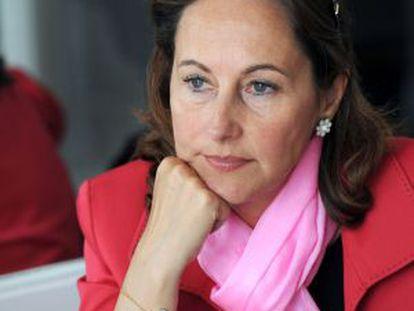 Ségolène Royal, durante la entrevista con EL PAÍS.