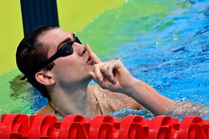 Kliment Kolesnikov celebra su récord en Budapest.