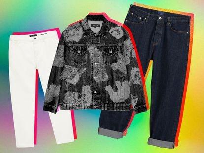 Prendas vaqueras de Pull&Bear, Shoop Clothing y Gant.