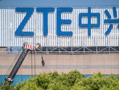 Oficinas de ZTE en Shanghái.