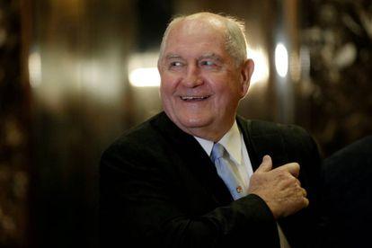 El nuevo secretario de Agricultura, Sonny Perdue