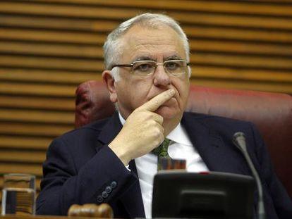 El presidente del Parlamento valenciano, Juan Cotino.