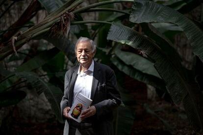Eduardo Mendoza, en la presentación de su libro 'Transbordo en Moscú'.