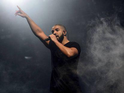 Drake, en una actuación en Finsbury Park, en Londres.