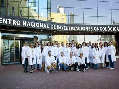 Investigadores del Centro Nacional de Investigaciones Oncológicas