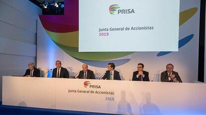 Junta General de Accionistas de PRISA de 2019.