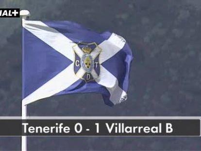 Tenerife 0 - Villarreal B 1