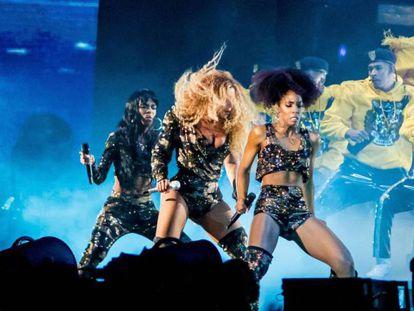 La actuación de Beyoncé en Coachella 2018.