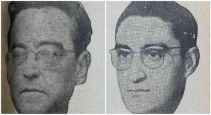 Adolfo Coello de Portugal y su hijo, Adolfo Coello Cervantes.