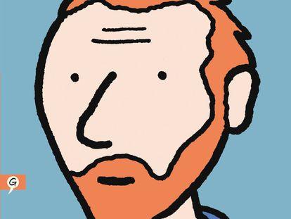 Portada del cómic 'Vincent', de Barbara Stok.