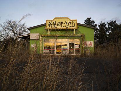 Un restaurante abandonado en la zona de exclusión de la ciudad de Tomioka, en la prefectura de Fukushima, el 27 de febrero de 2021.