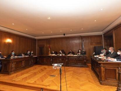 Vista de apelación en la Audiencia de Pontevedra por el cobro de peajes de Audasa durante las obras de Rande