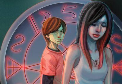 Detalle de la portada 'A second chance at Sarah'.