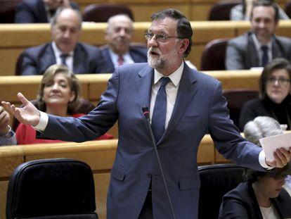 Sesión de control al Gobierno en el Senado. Rajoy(DVD 887)