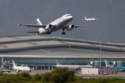 Un aeropuerto despega del aeropuerto de El Prat, en septiembre.