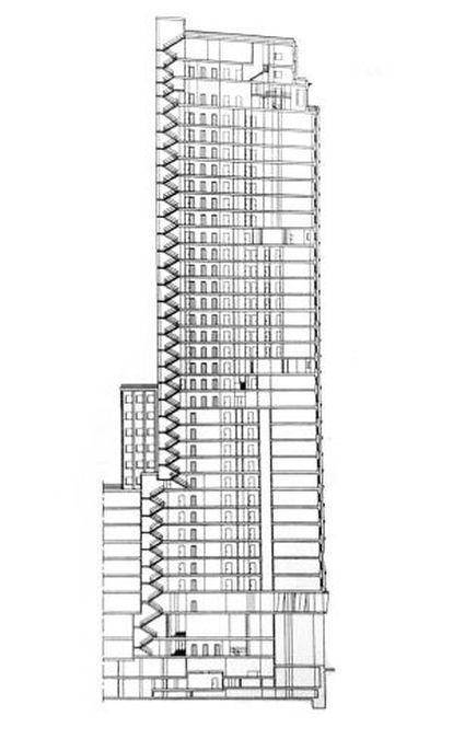 Plano de la Torre Madrid
