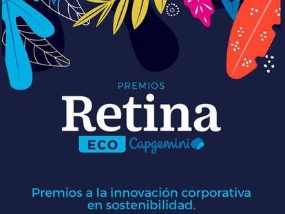 Portada de los premios Retina Eco, organizados por EL PAÍS.