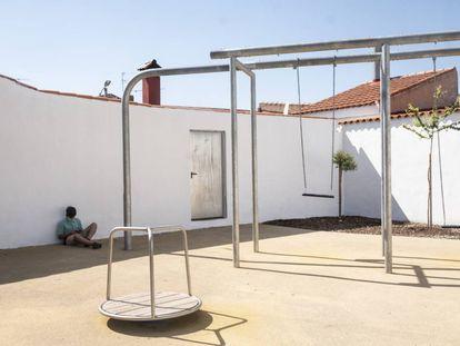 Un parque infantil en la España vaciada