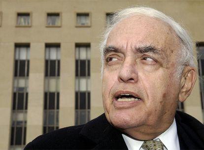 El periodista Robert Novack, en una fotografía de 2007.