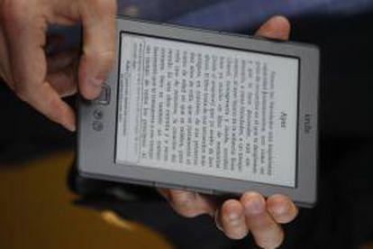 Un libro electrónico. EFE/Archivo