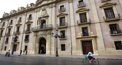 Fachada del Tribunal Superior de Justicia de la Comunidad Valenciana.