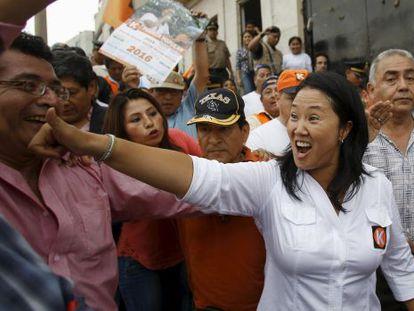 La hija del expresidente Alberto Fujimori, Keiko, es una de los candidatos.