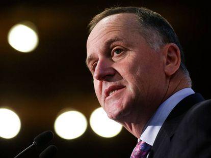 El exprimer ministro de Nueva Zelanda John Key.