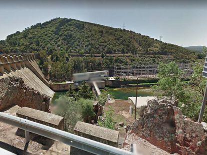 Imagen de la presa del Cíjara (Badajoz).