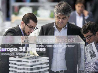 Uno de los expositores de Barcelona Meeting Point,