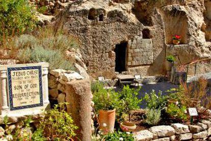 Exterior del sitio de peregrinación protestante.
