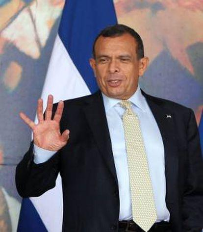 En la imagen, el presidente de Honduras, Porfirio Lobo. EFE/Archivo