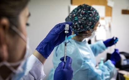 Vacunación contra la covid en la Comunidad Valenciana.