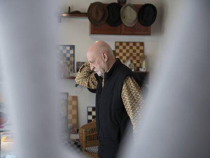 Eduardo Scala, este jueves en su casa, en Ávila.