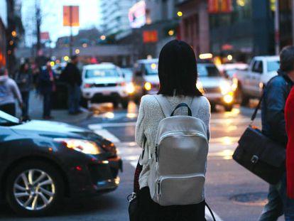 Entre los diferentes diseños de mochilas para portátil, una variante son los modelos femeninos, como el de la imagen.