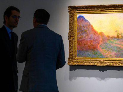 'Meules' de Claude Monet en una imagen de archivo. En vídeo, el vicepresidente de Sotheby's analiza la obra.