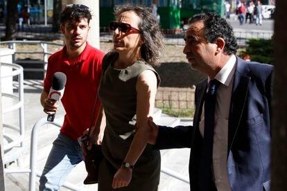 Noelia de Mingo, condenada a 25 años por matar en 2003 a tres personas en la Fundación Jiménez Díaz.