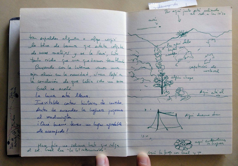 Los cuadernos de viaje de la educadora y artista Gael Zamora son una auténtica máquina del tiempo. Este verano te proponemos que construyas tu cuaderno en familia. Gael nos da pistas para hacerlo.