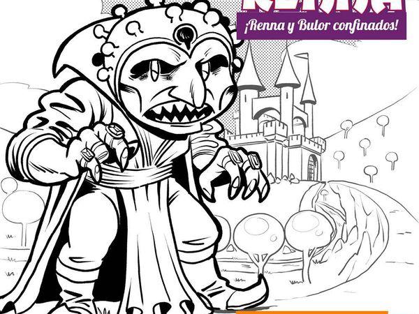Portada del cómic interactivo 'Reenna y Bulor confinados'