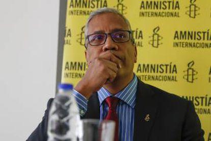 Marcos Gómez, director de Amnistía Venezuela.