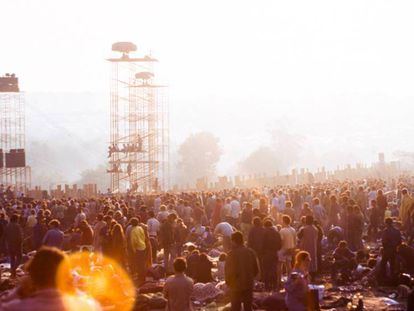 Una imagen del festival de Woodstock (1969). En vídeo, '¿qué ocurrió realmente en Woodstock?'.