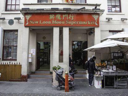 Barrio de Chinatown, en Londres.