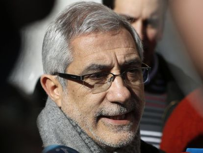El diputado asturiano y portavoz de Izquierda Abierta, Gaspar Llamazares.