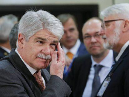 El ministro español de Exteriores y Cooperación, Alfonso Dastis.