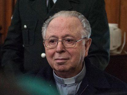 El religioso chileno Fernando Karadima, condenado por la Iglesia de abuso sexual, en una imagen de archivo.