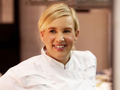 La cocinera francesa Hélène Darroze.
